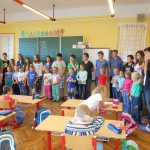 spolupráce 1. a 9. třída